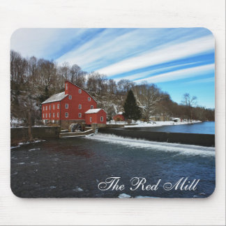 The Red Mill II Mouse Pad