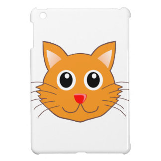 The Red-Nosed Orange Cat iPad Mini Covers