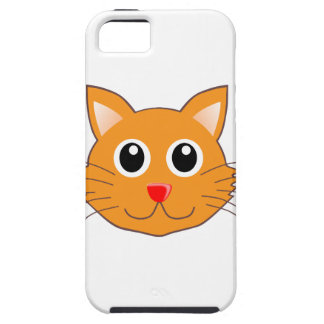 The Red-Nosed Orange Cat iPhone 5 Cover
