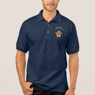 The Red-Nosed Reindeer Cartoon Polo Shirt