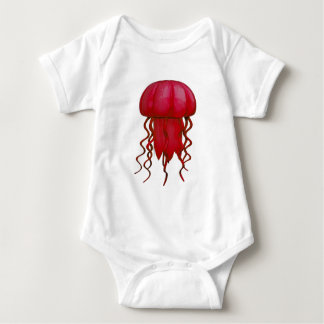 THE RED ONE BABY BODYSUIT
