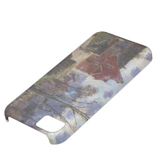 The red painted house by Gustave Loiseau iPhone 5C Case