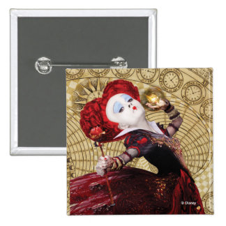 The Red Queen | Adventures in Wonderland 2 Inch Square Button