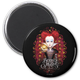 The Red Queen | Beyond the Mirror 2 Inch Round Magnet
