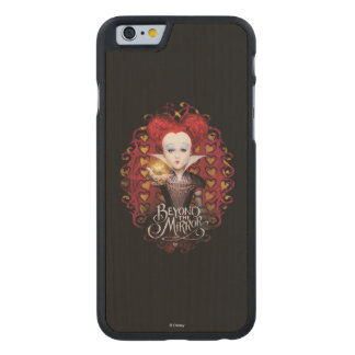 The Red Queen | Beyond the Mirror Carved® Maple iPhone 6 Slim Case