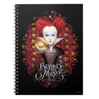 The Red Queen | Beyond the Mirror Spiral Notebooks