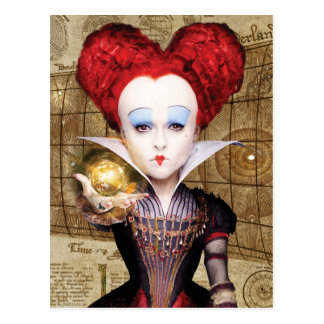 The Red Queen | Don't be Late Postcard