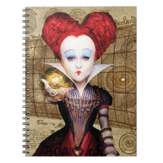 The Red Queen | Don't be Late Spiral Note Books
