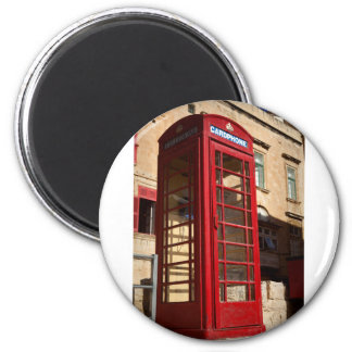 The red Telephonebox Magnet