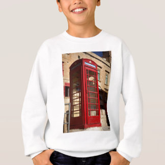 The red Telephonebox Sweatshirt