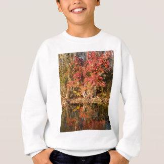 The Red Tree at Sunset Sweatshirt