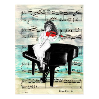 The Red Violin Postcard