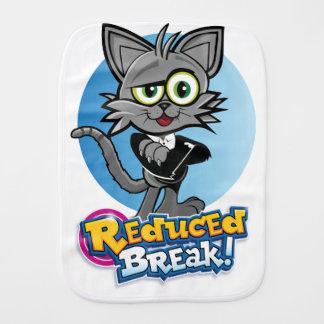 The Reduced Break Crazy Cat! Burp Cloth