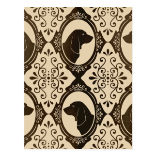 The Regal Basset Hound Postcard