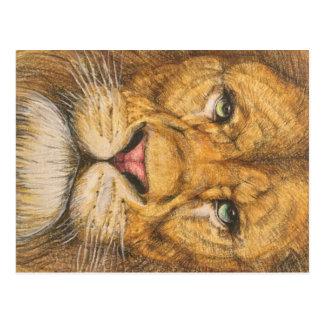 The Regal Lion Postcard