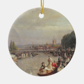 The Regatta Ceramic Ornament