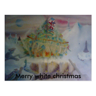 the regency's christmas, postcard