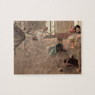 The Rehearsal by Edgar Degas, Vintage Ballet Art Jigsaw Puzzle