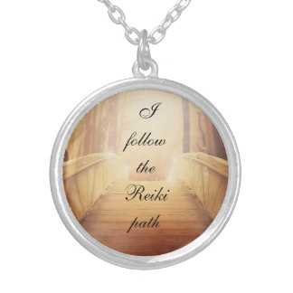 The Reiki Path Silver Plated Necklace