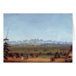 The Rendezvous Near Green River Greeting Card