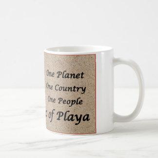 The Republic of Playa on Toes Beach Sand Coffee Mug