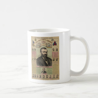 The Republican Chart Ulysses S. Grant by M.T. Boyd Coffee Mug