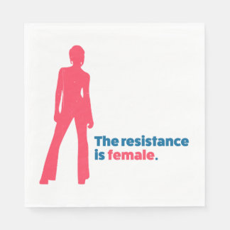 The resistance is female. napkin
