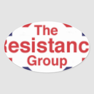 The Resistance Oval Sticker