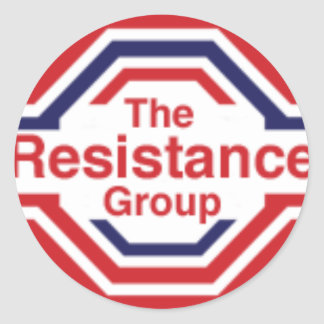 The Resistance Round Sticker