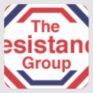 The Resistance Square Sticker