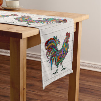 The Resplendent Rooster LgTable Runner