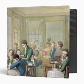 The Restaurant in the Palais Royal, 1831 Binder