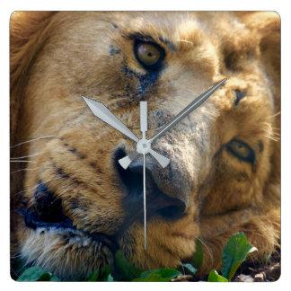 The Resting Lion Wallclock