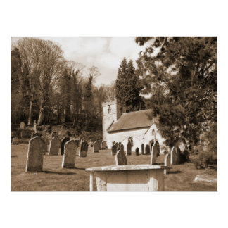 The Resting Place Churchyard Scotland Poster