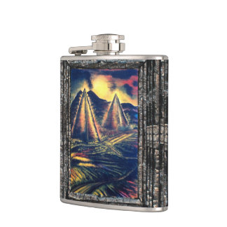 The Resting Place Hip Flask