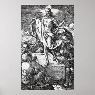 The Resurrection by Albrecht Durer Poster
