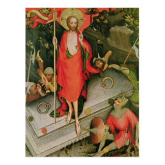 The Resurrection, c.1380 Postcard