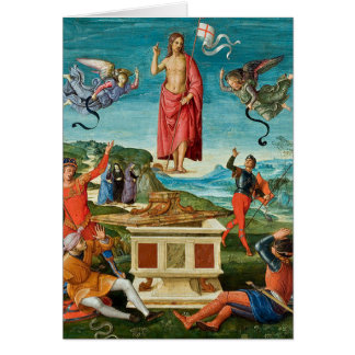 'The Resurrection of Christ' Card