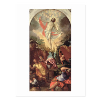 The Resurrection of Christ (oil on canvas) Postcard
