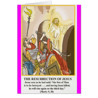 The Resurrection of Jesus Card