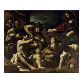 The Resurrection of Lazarus, c.1619 Poster