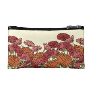 The Retro Flower in the Garden Makeup Bag