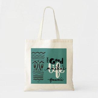 The Retro Tiki Maika'i - Good - Life Tote Sm Bag