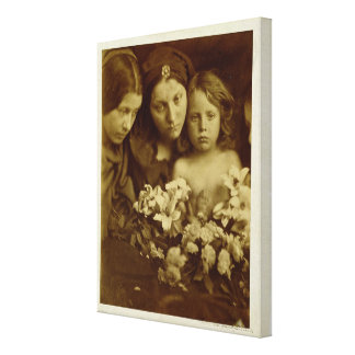 The Return after Three Days, c.1865 (sepia photo) Gallery Wrapped Canvas