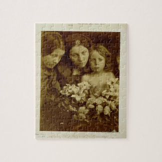 The Return after Three Days, c.1865 (sepia photo) Jigsaw Puzzle
