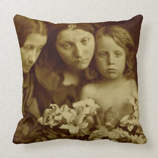 The Return after Three Days, c.1865 (sepia photo) Pillows