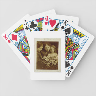 The Return after Three Days, c.1865 (sepia photo) Poker Cards