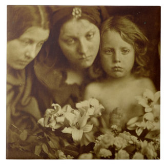The Return after Three Days, c.1865 (sepia photo) Tiles