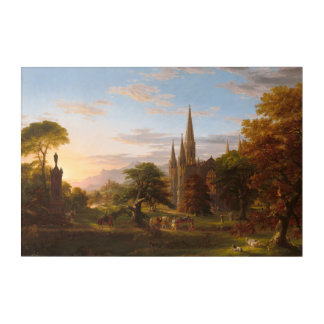 The Return by Thomas Cole Acrylic Wall Art