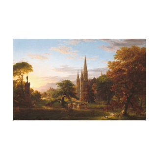 The Return by Thomas Cole Canvas Print